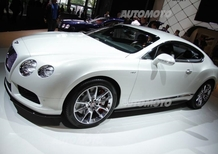 Bentley al Salone di Francoforte 2013