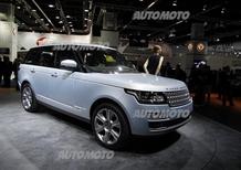 Land Rover al Salone di Francoforte 2013