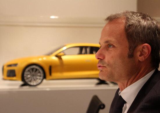 Egger: «La Quattro Sport Concept è uno sguardo al passato declinato al futuro»