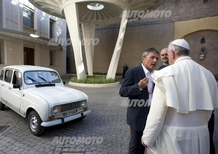 Renault 4: ecco la papamobile di Papa Francesco