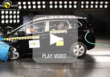 Crash test 2013: cinque stelle per Kia Carens e Qoros 3 Sedan
