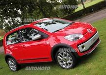 Heil, Volkswagen: «Già vendute 250.000 up!. E ora arrivano cross up! e e-up!»