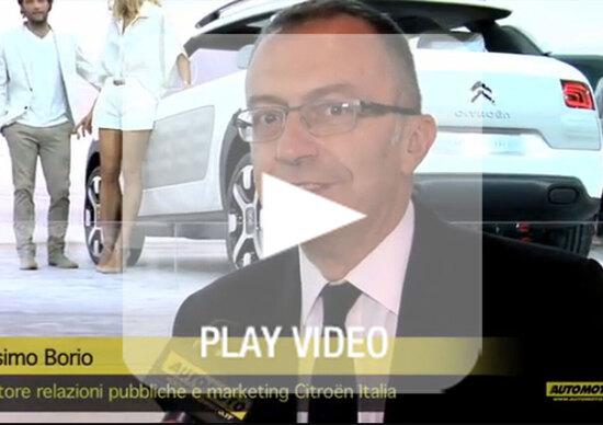 Il video delle novità Citroen al Salone di Francoforte 2013