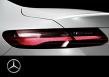 Nuova Mercedes-Benz Classe E coupé: arriva al Salone di Detroit, ecco il teaser [Video]