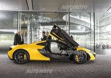 McLaren P1: ufficializzate le prestazioni e consegnato il primo esemplare