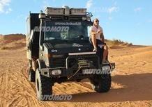 Odinzoff : «La gamma Mercedes SUV e 4x4 soddisfa ogni esigenza, anche nel Sahara»