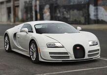 Bugatti Veyron Super Sport: l'ultima all'asta negli USA