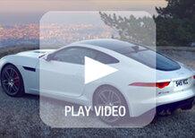 Jaguar F-Type R Coupé: il sound del V8 da 550 CV