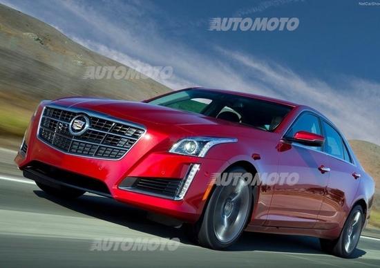 Nuova Cadillac CTS: in arrivo in Italia. Ecco i prezzi