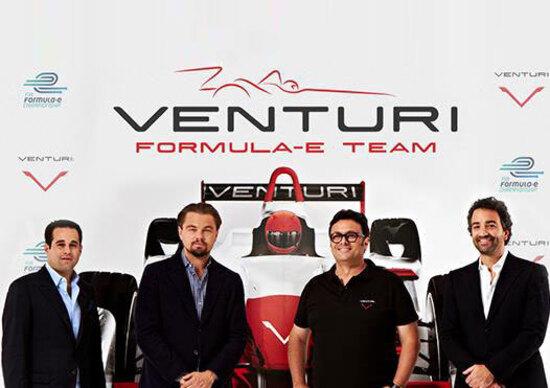 Formula E: Venturi e Leonardo Di Caprio fondano un team