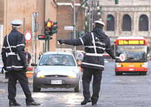 Roma: oggi blocco dei veicoli più inquinanti