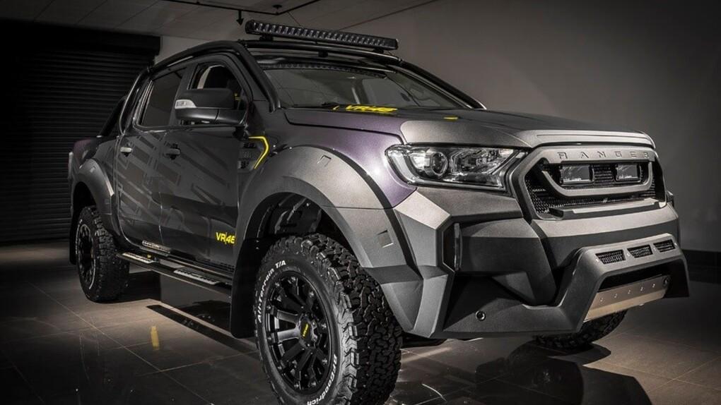 Ford omaggia Valentino Rossi: ecco Transit e Ranger VR|46 Edition