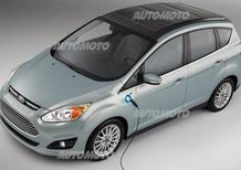 Ford C-Max Energi Solar concept: la ricarica dal sole