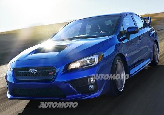 Nuova Subaru WRX STi: tutte le immagini e i dati ufficiali