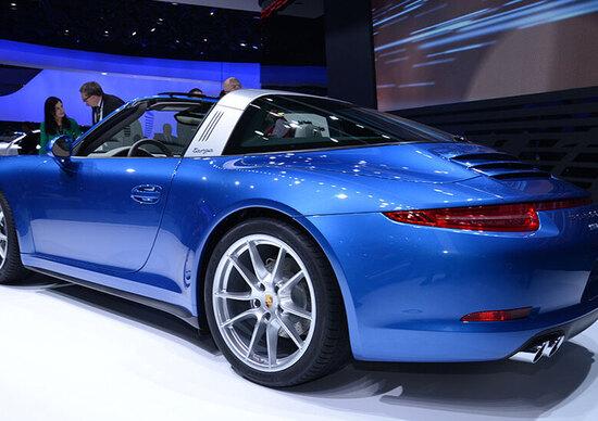 Porsche al Salone di Detroit 2014