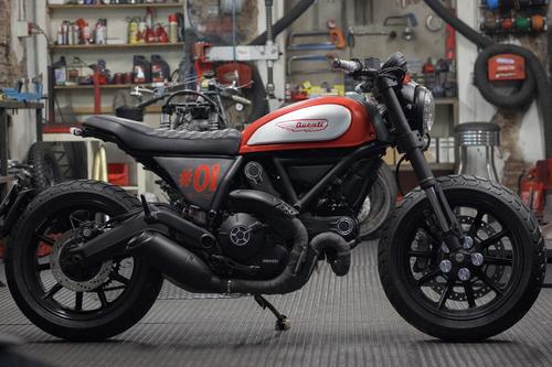 #BehindTheScramblers, ecco le 5 special Ducati Scrambler (2)