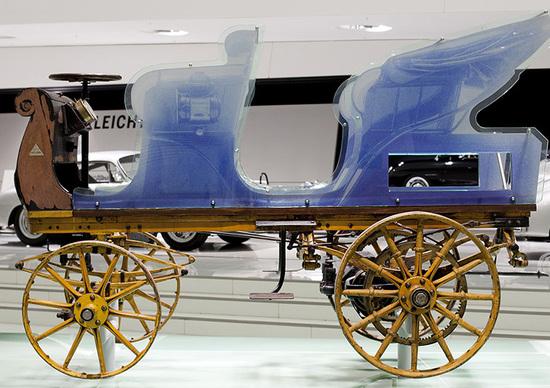 La prima Porsche? Si chiama P1, è elettrica e nasce nel 1898