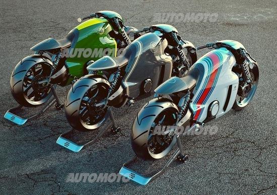 Lotus: ecco la supersportiva (a due ruote) C-01