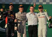 Formula 1 Australia 2014: le dichiarazioni dal podio del GP di Melbourne