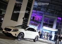 Mercedes GLA: arriva in Italia sulle note di Giorgia, Giuliano Palma e Saturnino