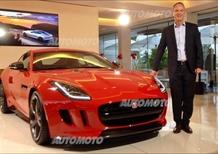 Kuhnt: «Con la Jaguar F-Type Coupé parliamo a voi Italiani, amanti delle vere sportive»