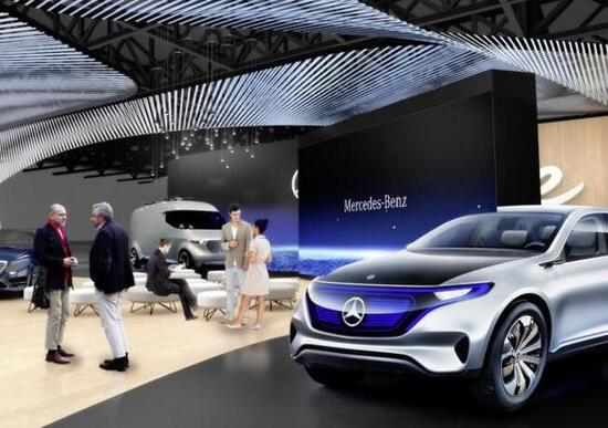 Mercedes, la mobilità del futuro al CES 2017