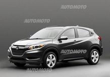 Honda HR-V: prime immagini ufficiali