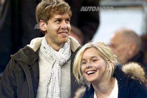 Hanna Prater - Fidanzata di Vettel