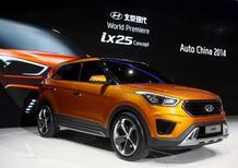 Hyundai ix25 concept: in arrivo un SUV compatto per la Cina