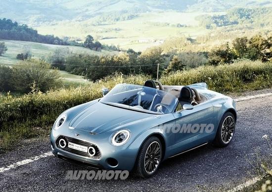 Mini Superleggera Vision concept: lo stile britannico si fonde con quello italiano