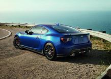Subaru BRZ Blue Special Edition