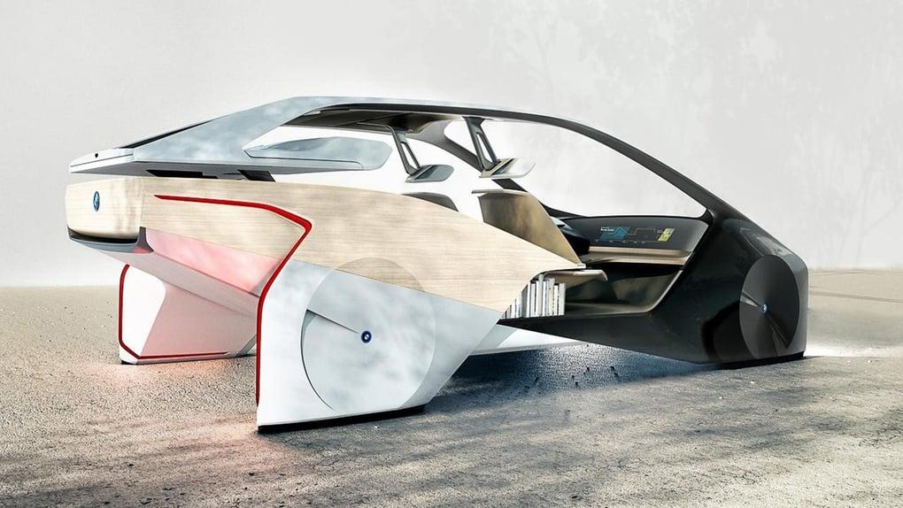 CES 2017, BMW i Inside Future concept: futuro a comandi gestuali (2)