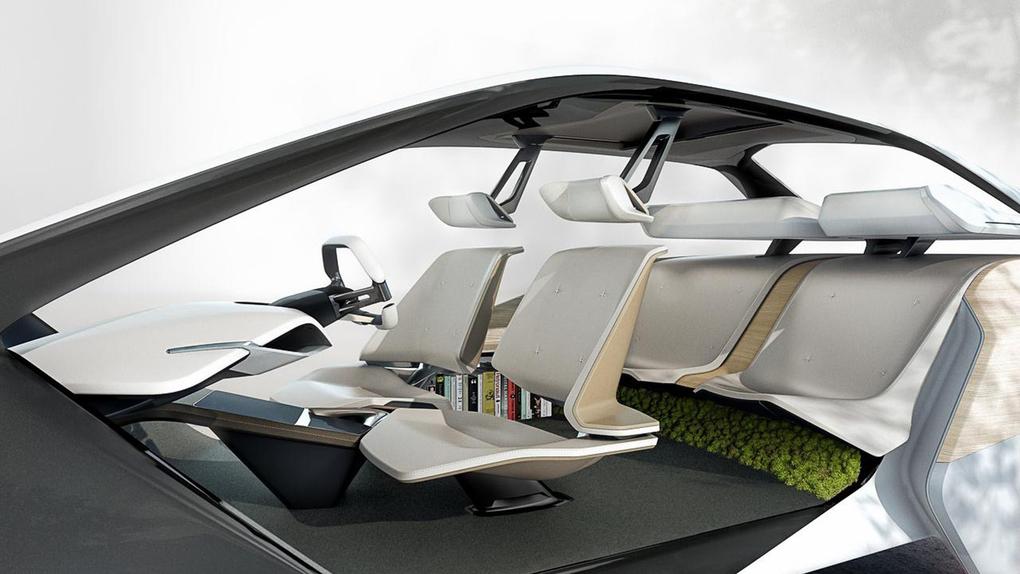 CES 2017, BMW i Inside Future concept: futuro a comandi gestuali (5)