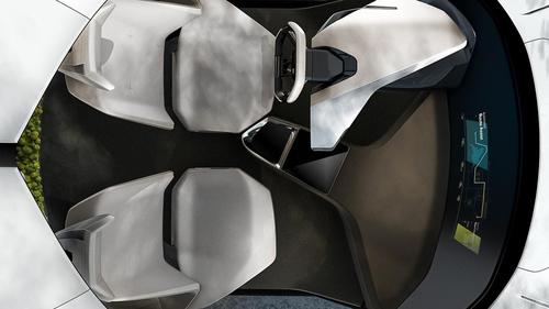 CES 2017, BMW i Inside Future concept: futuro a comandi gestuali (9)