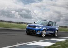 Range Rover Sport SVR: svelata definitivamente