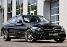 Mercedes Classe C by Brabus: valanga di cavalli per i quattro cilindri