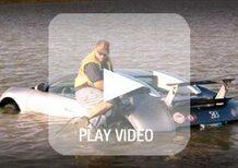 Schianta la Bugatti Veyron nel lago: l'incidente era finto, rischia 20 anni di prigione