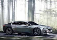 Peugeot Exalt: a Parigi una nuova variante della concept del Leone