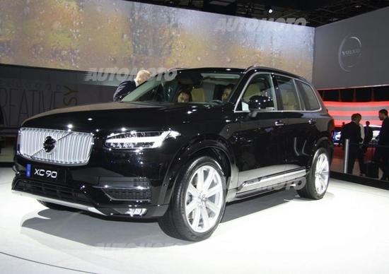 Volvo al Salone di Parigi 2014
