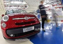 Fiat 500L: dopo gli stop, riprende la produzione in Serbia