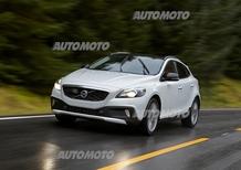 Volvo V40 Cross Country: trazione integrale e nuovo T5 Drive-E