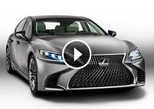 Nuova Lexus LS, debutto al Salone di Detroit 2017 [Video]