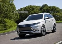 Mitsubishi Outlander PHEV Concept-S: l'evoluzione del SUV plug-in