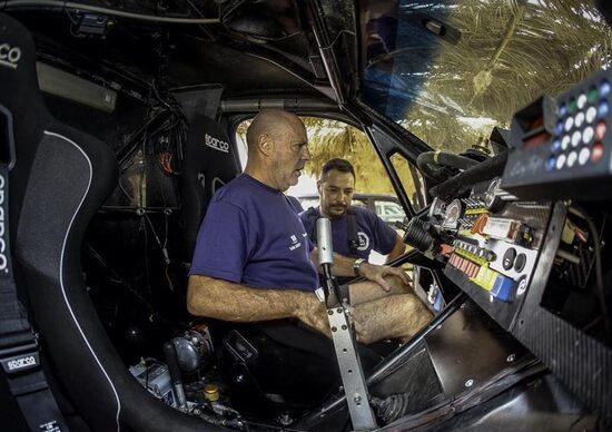 OiLibya Rally Marocco. Le avventure di Miki Biasion