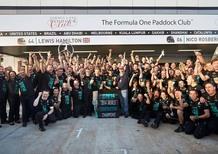 F1 Russia 2014: Mercedes vince il Mondiale Costruttori. La Ferrari è in letargo
