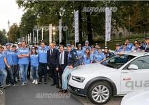 Audi: anche quest'anno a fianco degli atleti della FISI