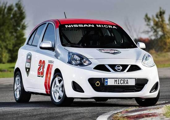 Nissan Micra Cup: l'auto da corsa più economica del mondo