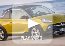 Opel Adam Rocks: la nostra video-prova