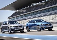 Nuove BMW X5 M e X6 M: eccole senza veli