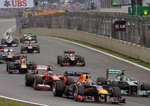 Orari TV Formula 1 GP Brasile 2014 Sky e Rai